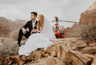 Grand Canyon Wedding (Helicopter Colletion)