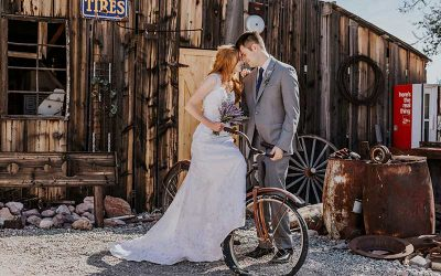 Nelson's Landing Ghost Town Wedding